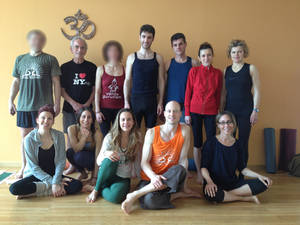 Alcuni del gruppo del workshop