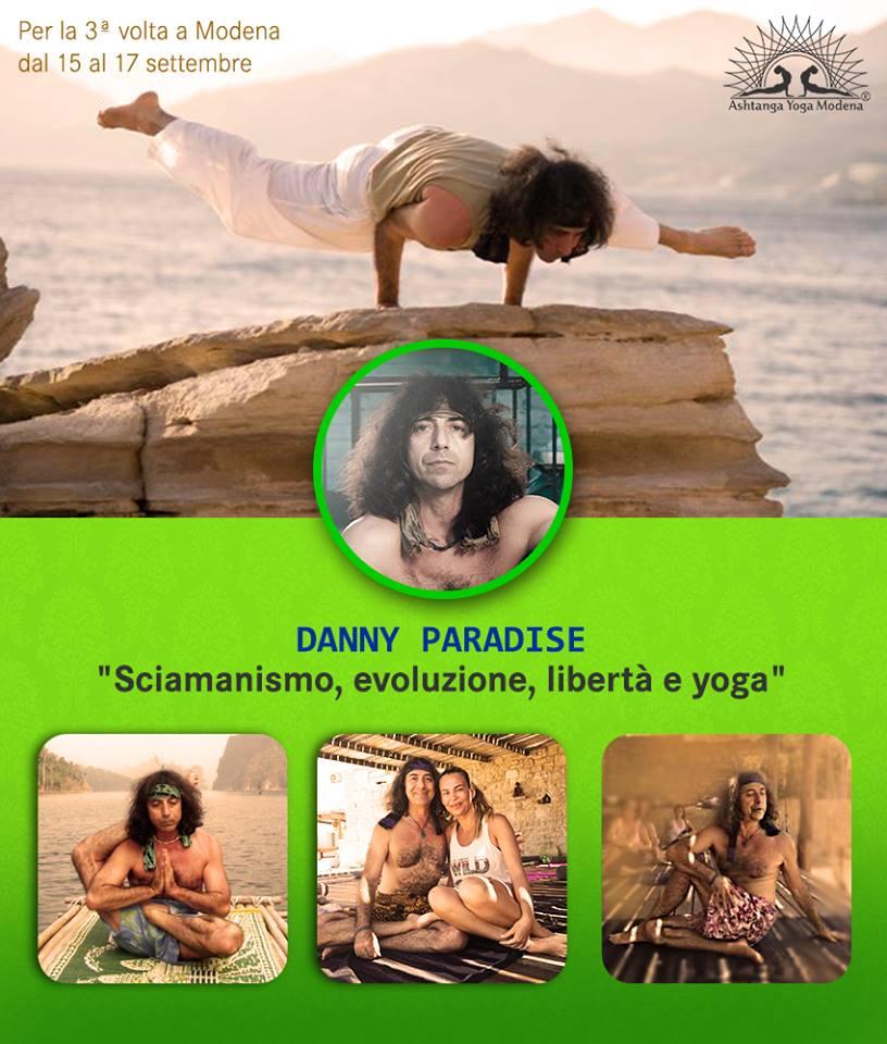 Danny Paradise a Modena, settembre 2017