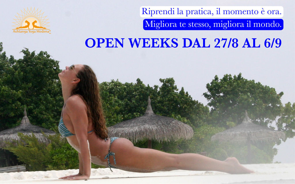 Open Weeks 2018